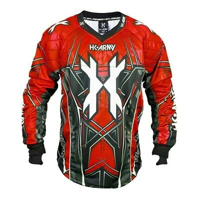 Paintball 2017 HK Army HSTL 2017 Paintball Jersey - Red - 3XLarge