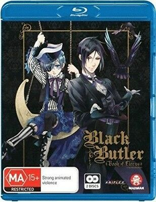 Black Butler: Book Of Circus Season 3 Blu-ray Region ALL