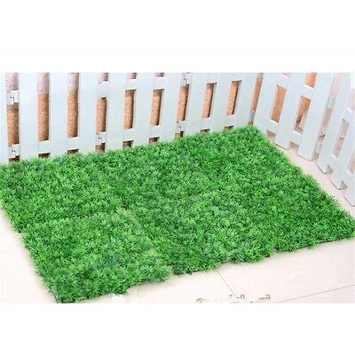 New Synthetic Turf Faux Lawn Garden Aquarium Ornament Artificial Grass 25*25cm