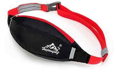 Waist Bag With Zip - Great For Running Walking