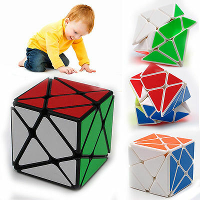 Kid Children Ultra-smooth Magic Stone Cube Box Speed Puzzle Twist Education Toy