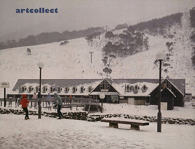 Image: The Valley Terminal Chalet, Thredbo (1960s). Australia.