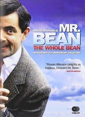 Mr. Bean: The Whole Bean (Remastered 25th Anniversary Collection) [New DVD] Wi