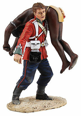 """BRITAINS SOLDIERS ZULU WARS """"CLEARING THE YARD"""" SET No1  20163 -REDUCED metal"""