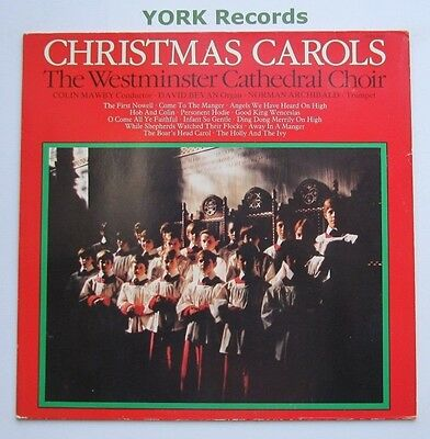 CHRISTMAS CAROLS - The Westminster Cathedral Choir - Ex Con LP Record Pickwick