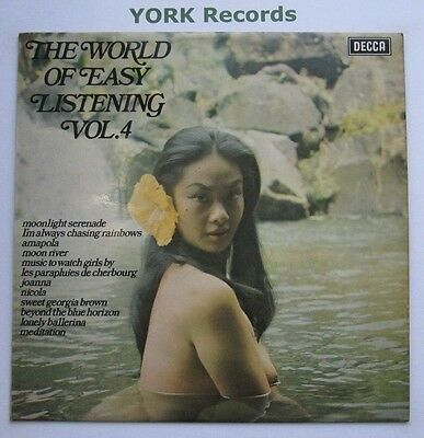 WORLD OF EASY LISTENING VOL 4 - Various - Excellent Con LP Record Decca SPA 292