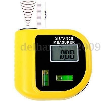 Digital Laser Distance Meter Ultrasonic Rangefinder Measure Tape Diastimeter Hot
