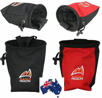 Outdoor Rock Climbing Magnesium Powder Chalk Addict Bag Waterproof Polyester OZ