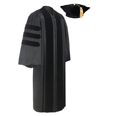 Doctoral Graduation Gown and Tam Package – All Sizes