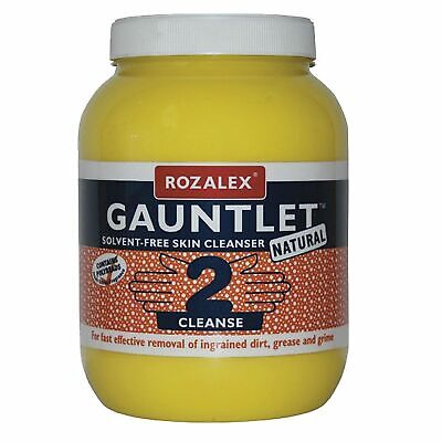 Rozalex Gauntlet Natural Lemon Heavy Duty Hand Cleanser/Cleaning In 3 Litres