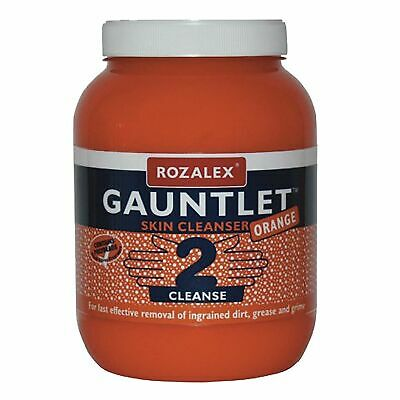Rozalex Gauntlet Natural Orange Heavy Duty Hand Cleanser/Cleaning In 3 Litres