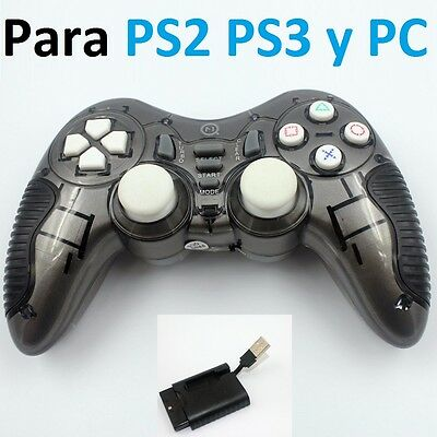Mando inalambrico compatible para PC y playstation 2 y 3 PS2 PS3 wireless Play N