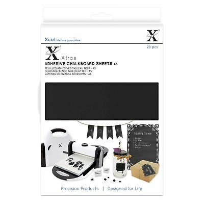 X-Cut Adhesive Chalkboard 20 Sheets Die Cutting Papercrafting