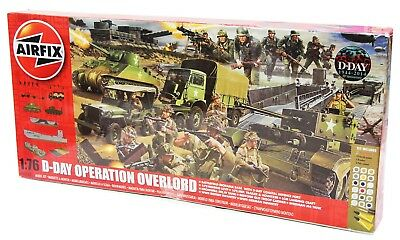 Airfix A50162 - Modellbausatz D-Day Operation Overlord Giant Gift Set TD106 B