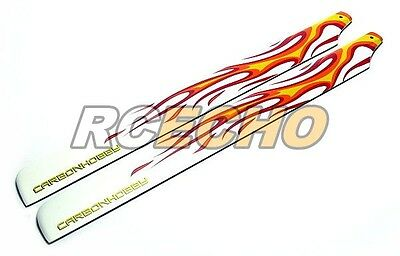 R/C Hobby Fire Carbon 325mm RC Model Helicopter Main Blades (2pairs) CA120