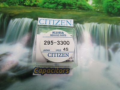 New Citizen 295-3300 Eco_Drive Capacitor Free Postage
