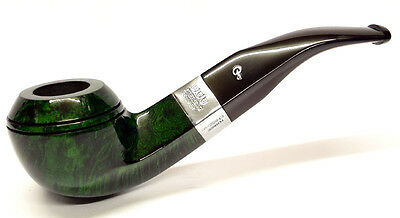 Peterson Racing Green Sterling Silver Mount Rhodesian Pipe Free Pipe Tool (80s)