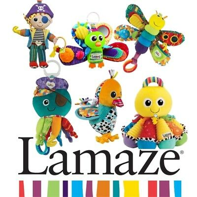 Lamaze Play and Grow Baby/Child Acitivy Soft Toy BRAND NEW *10 Designs available