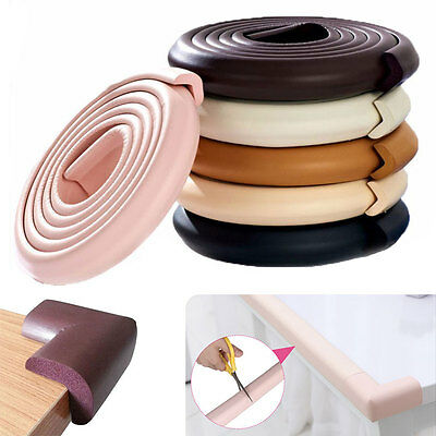 Baby Safety Foam Glass Table Corner Guards Protectors Soft Child Kids Edge 2M-4M