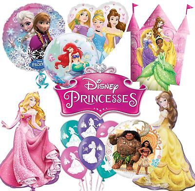 Disney Princess Foil Latex Balloons Birthday Party Decorations Supplies Girls
