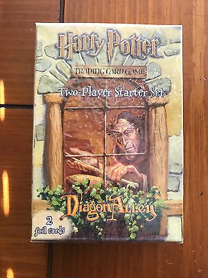 Harry Potter Diagon Alley Two-Player Starter Set Trading Card Game Sealed Box