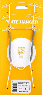Plate Wall Hanger Holder Hanging Wire for Display Various Sizes