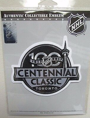 2017 Nhl Centennial Classic Detroit Red Wings Official Hockey Patch Emblem