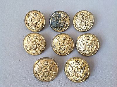 Rex Products Corp New Rochelle, NY Brass US Military WWII WWI Buttons