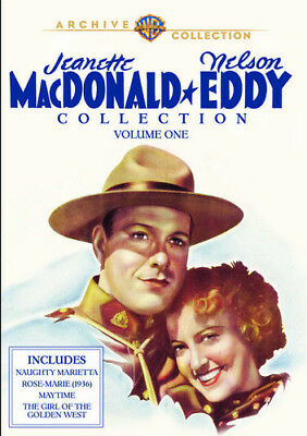 Jeanette Macdonald & Nelson Eddy Collection 1 DVD