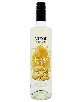 Vizor Peanut Butter Schnapps 700mL case of 6