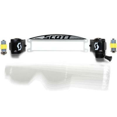 Scott Tyrant Hustle Film Roll Off Motocross Dirt Bike Goggles Roll-Off System