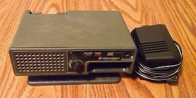 Motorola Minitor II 2 Fire Pager Amplified Base Battery Charger Cord EMS Police