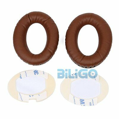 1 Pair Ear Pads Coffee Cushions For Bose QuietComfort 15 QC15 Limited Edition