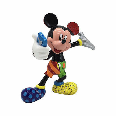 Disney Britto Mickey Mouse Takes A Selfie Figurine New 4055690