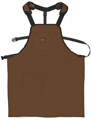 Duckwear Canvas Apron w/ Adjustable Belt Work Clothing Protection For Wood Shop