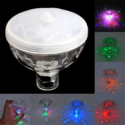 Floating Underwater 4 LED Disco Light Glow Show Swimming Pool Hot Tub Spa Lamp