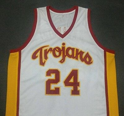 BRIAN SCALABRINE USC Trojans White College Basketball Jersey Gift Any Size