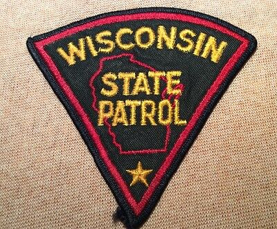 WI Wisconsin State Patrol Patch