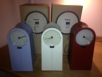 """Set of 3 - radio alarm clocks """"Coo Coo"""" by Philippe Starck for Alessi Thomson"""