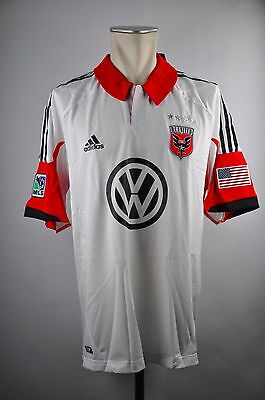 DC United Trikot Away Gr. L / XL Adidas MLS Jersey 2013 USA Soccer Washington