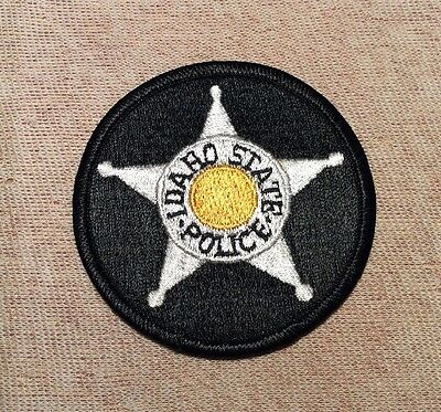 ID Idaho State Police Patch (3In)