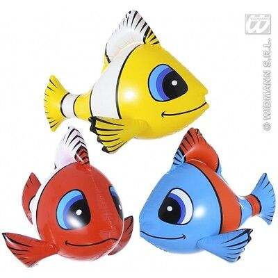 Inflatable Tropical Fish for Sea Mermaids Party Decoration
