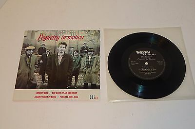 """THE POGUES POGUETRY IN MOTION 1986 STIFF 7"""" 33rpm + P/S"""