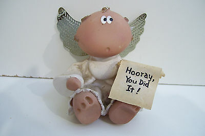 """Angel Party """"Hooray You Did It"""" Bear Congrats Grad Birth Engage Marriage"""