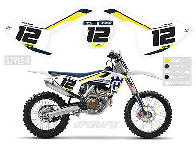 Husqvarna Motocross Backgrounds Number Boards Mx Graphics Tc 125 250 350 450