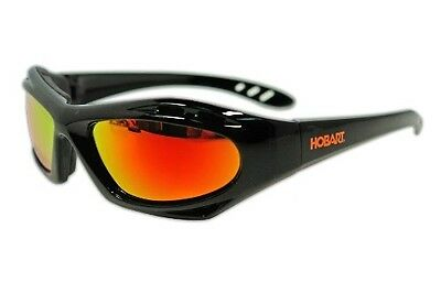 770726 Shade 5 Mirrored Lens Safety Glasses Goggles Black Frame