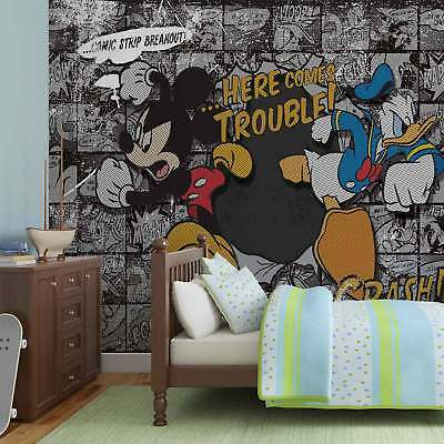 WALL MURAL PHOTO WALLPAPER XXL Disney Mickey Mouse (531WS)