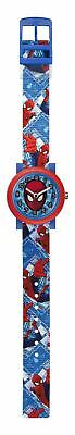Marvel Ultimate Spiderman Children's Quartz Analogue Display Watch - Blue / Red