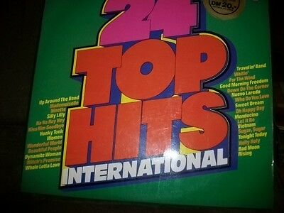 2LP V/A 24 TOP HITS INTERNATIONAL * PHILIPS GER 70's FOC * TOP