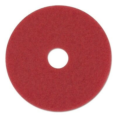 "Boardwalk Standard 12"" Diameter Buffing Floor Pads - 4012RED"